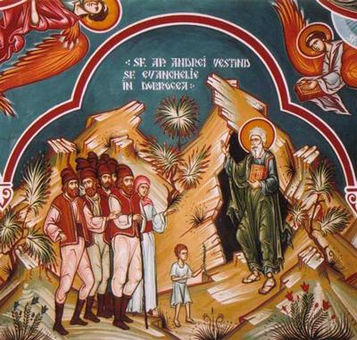Sfântul Apostol Andrei, Apostolul Românilor