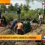 VIDEO: Groapa comună de la Periprava. Au fost descoperite osemintele celor uciși sub comanda torționarului Ion Ficioru