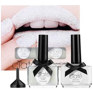 ciaté white caviar manicure