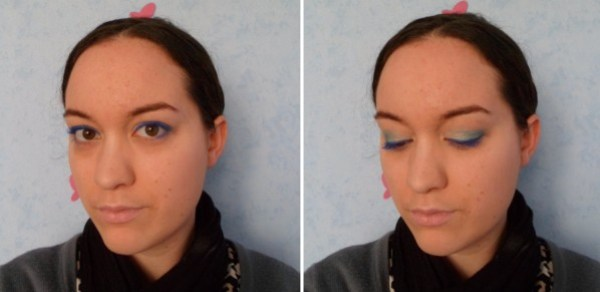 maquillage teint yeux bouche complet