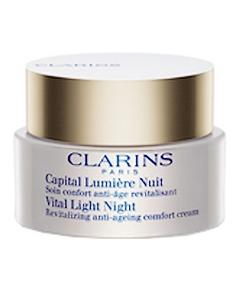 clarins soin capital lumière nuit