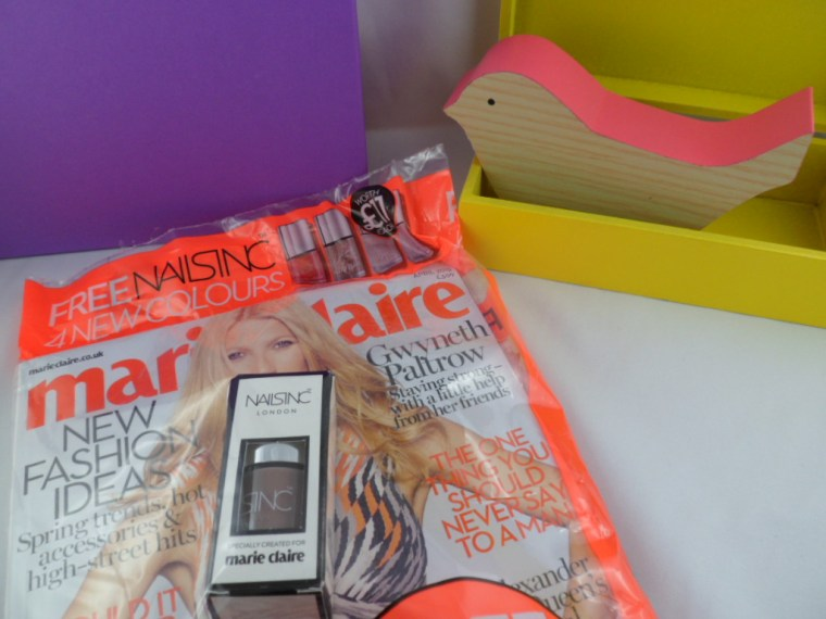 marie claire nails inc vernis