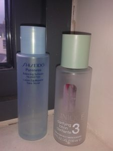 lotions shiseido clinique