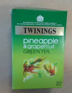 pineapple grapefruit green tea