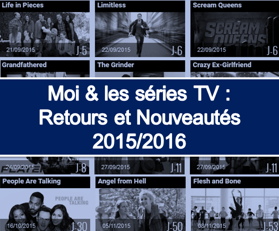 séries tv 2015-2016