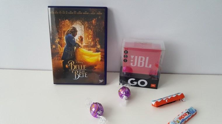 dvd la belle et la bete 2017