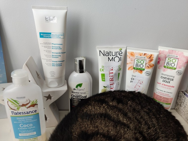 6 shampooings sans sulfate