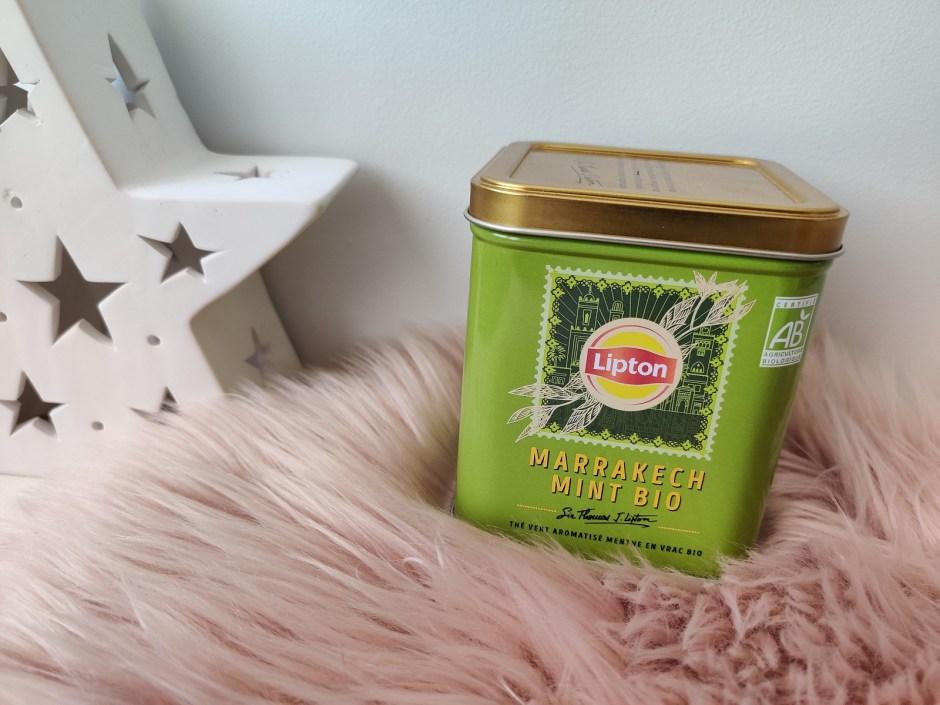 thé marrakech mint bio lipton
