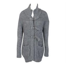 veste cocooning laine maille