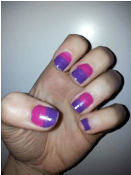 nail patch art rattrapé
