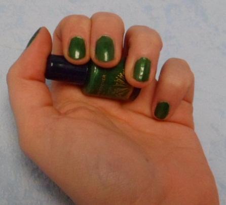vernis vert yves rocher