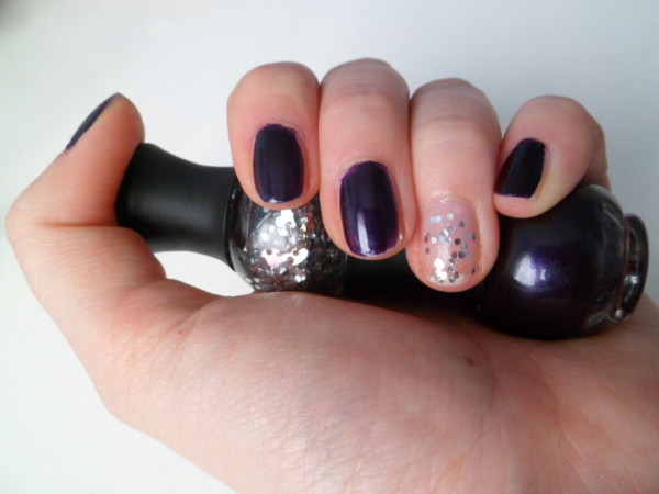vernis prune baguette sephora silver
