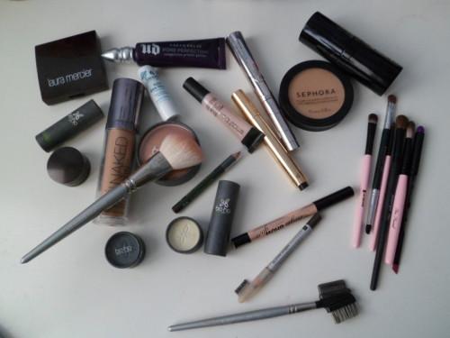 armes de bataille maquillage mars