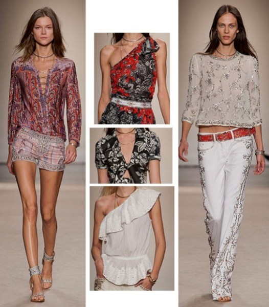 defile-isabel-marant-printemps-ete-2013