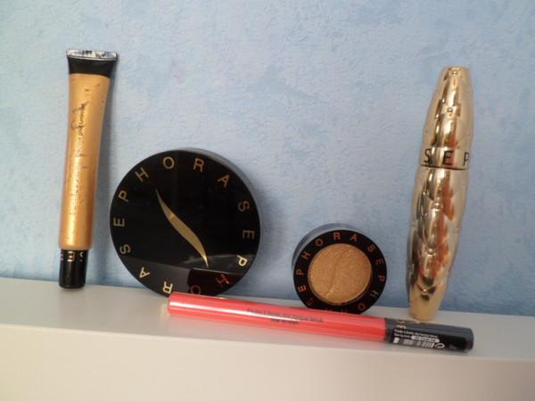maquillage sephora soleil doré