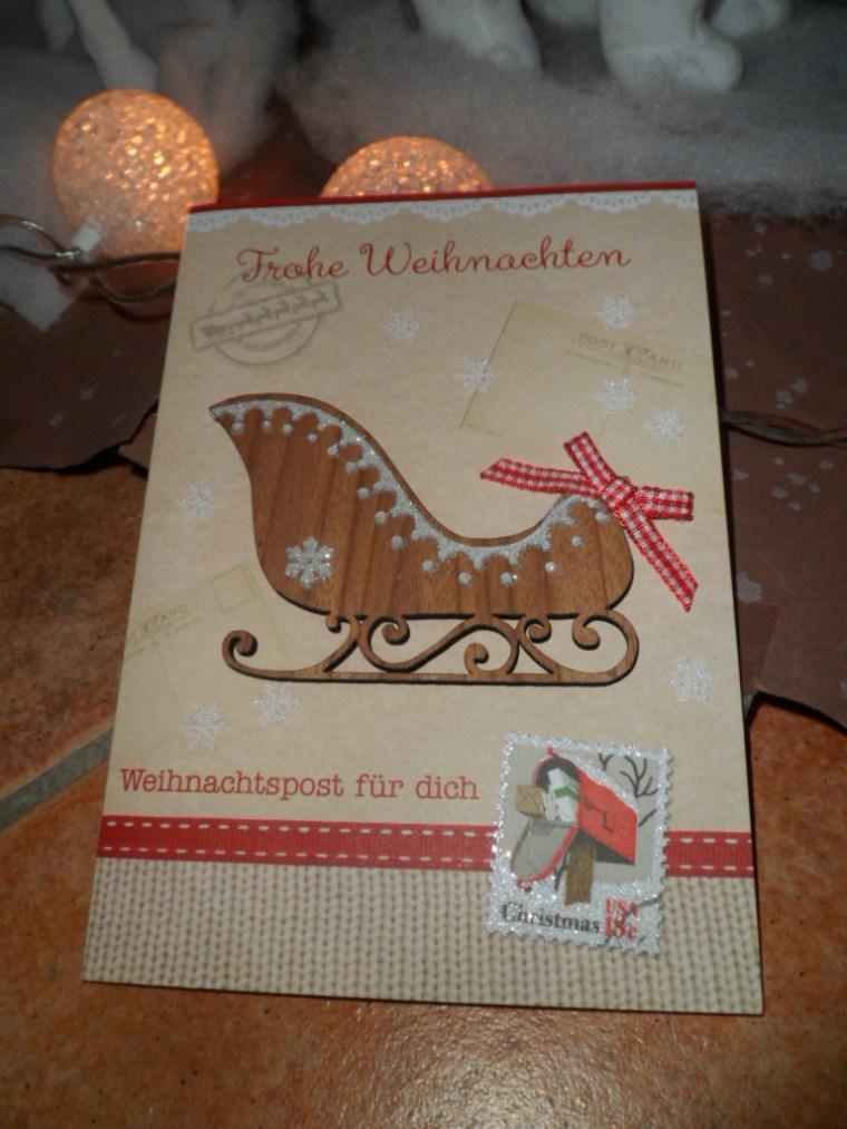 carte noel allemande