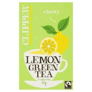 green tea lemon clipper