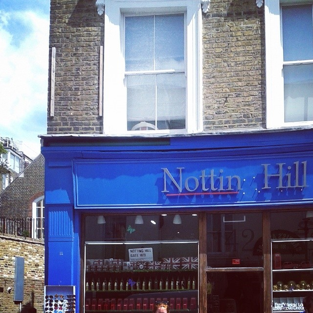 notting hill bookshop fake