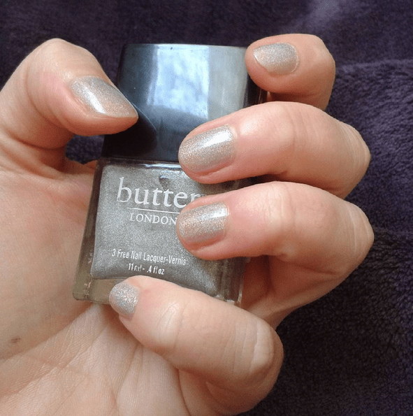 vernis argenté butter london