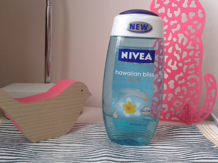 gel douche frangipani oil nivea
