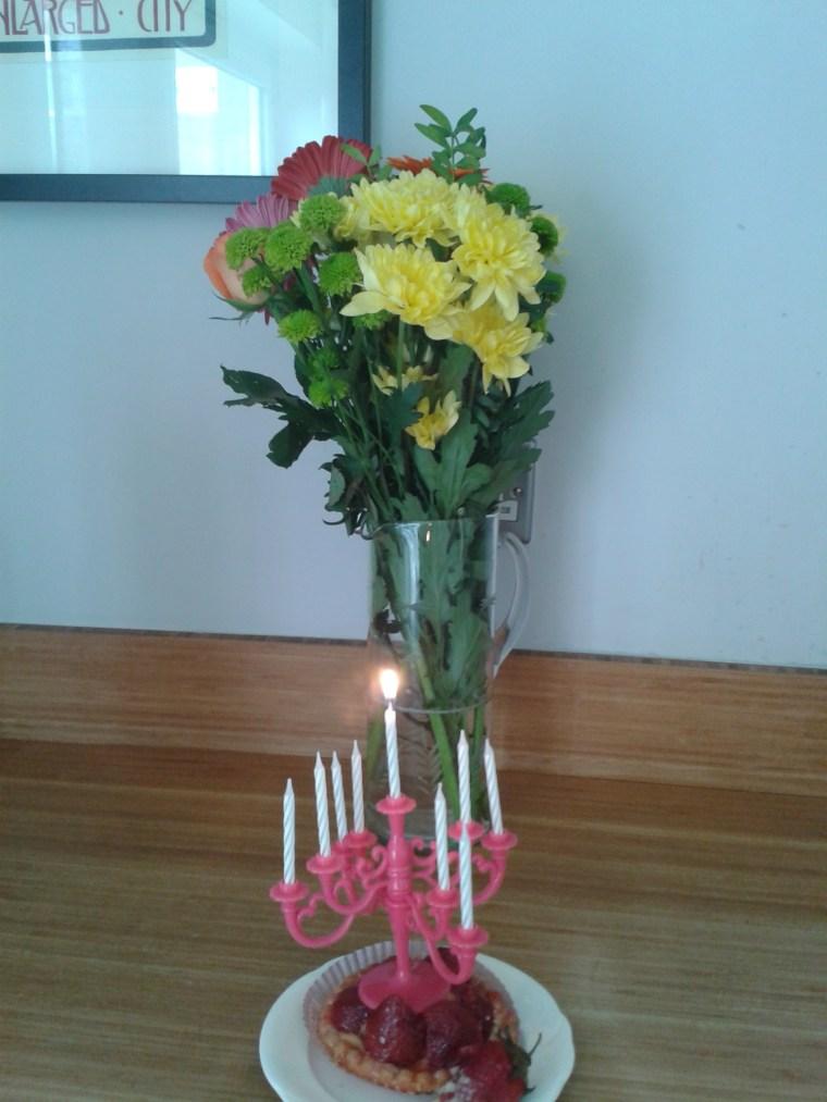 bouquet bougies
