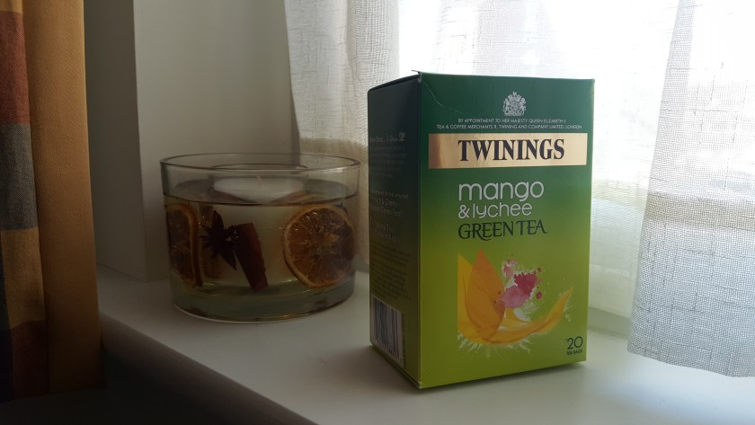 the vert mangue litchi twinings