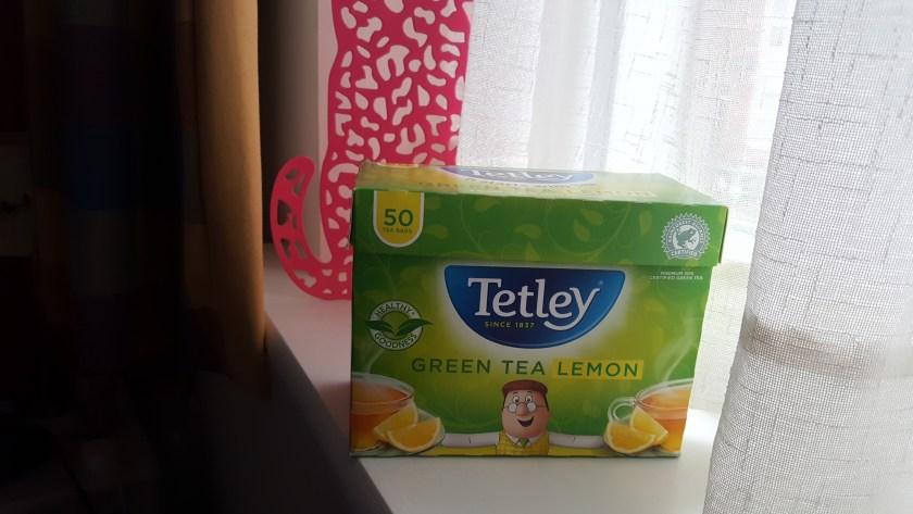 thé vert citron tetley
