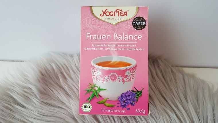 équilibre féminin yogi tea