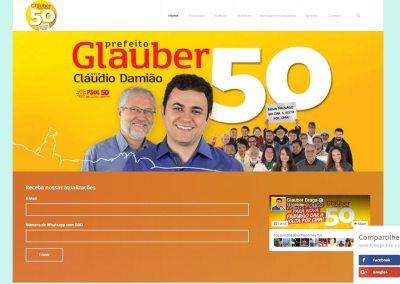 Campanha para Prefeito do Deputado Glauber Braga 2016