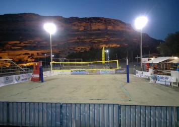 Πανέτοιμοι για την  πρεμιέρα του Matala Beach Volley