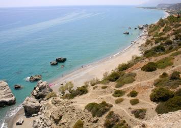 """Η απίθανη παραλία """"Ληστής"""" της Βιάννου (φώτο)"""