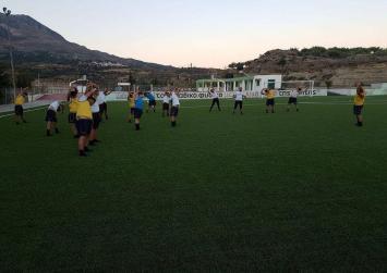 Οκτώ γκολ , και νίκη Ζαρού με 3-5 επί του Αλμυρού