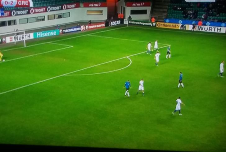 Τρία στα τρία η Ελλάδα , 0-2 εκτός την Εσθονία!