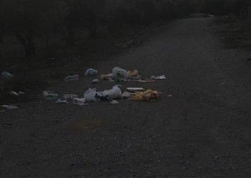 Εκεί βόλεψε…εκεί πέταξε τα σκουπίδια του!
