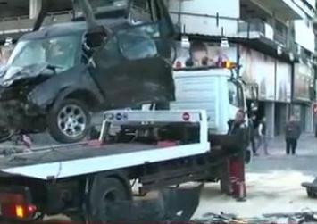 Καραμπόλα 5 οχημάτων με σοβαρά τραυματίες στη λεωφόρο Συγγρού