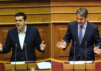 """Στα άκρα η κόντρα ΣΥΡΙΖΑ – ΝΔ με φόντο τον """"μποναμά"""" Τσίπρα"""