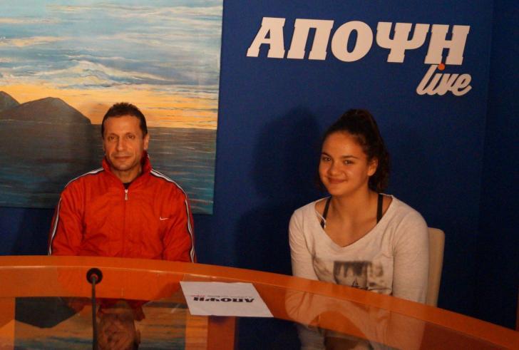 Aποκαλυπτική συνέντευξη της πρωταθλήτριας Ευρώπης Κέλλυ Κυδωνάκη και του προπονητή της (βίντεο)