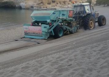 Καθάρισαν την παραλία στα Μάταλα
