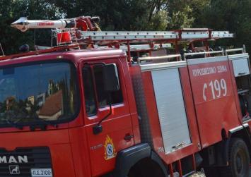 Κινητοποίηση της Πυροσβεστικής για δυο φωτιές στο Ρέθυμνο