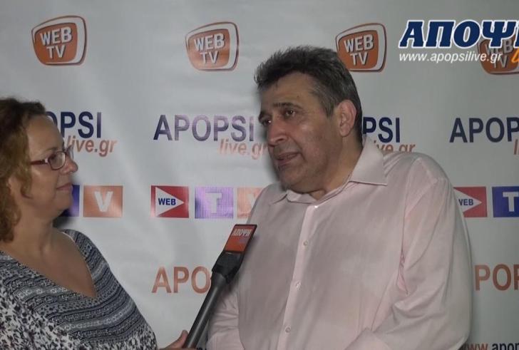 Δήλωση Ηγουμενίδη βουλευτή ΣΥΡΙΖΑ Ν. Ηρακλείου στην Γεωργική Έκθεση Mεσαράς (βίντεο)