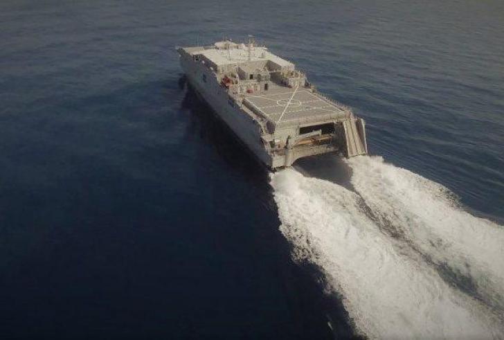 Στη Σούδα ταχύπλοα του αμερικανικού στόλου (Βίντεο)