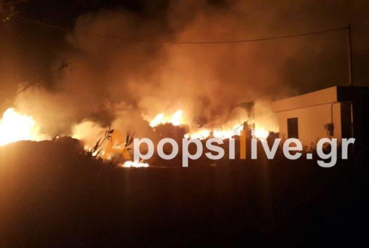 Στο πόδι η Μεσαρά από έκρηξη σε καζάνι στο Πετροκεφάλι-ευτυχώς δεν υπάρχουν θύματα