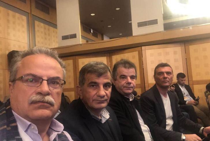 Στις εργασίες του Ετήσιου Τακτικού Συνεδρίου της ΚΕΔΕ ο Γ. Ταταράκης και ο Π. Μουρτζανός