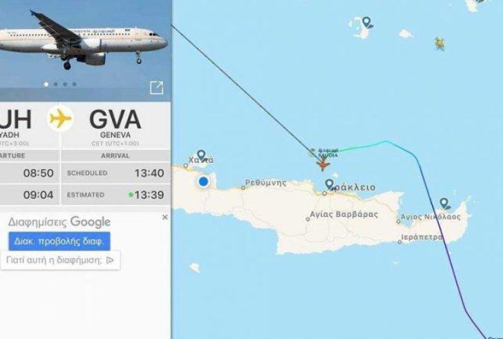 Συναγερμός για αεροπλάνο – Έκτακτη προσγείωση στο αεροδρόμιο Ηρακλείου
