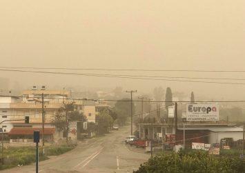 «Βαριά» ατμόσφαιρα στην Κρήτη σήμερα – Αφρικανική σκόνη και ζέστη