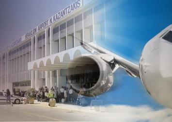 """""""Απογειώθηκε"""" τον Ιανουάριο η κίνηση στο αεροδρόμιο Ηρακλείου"""