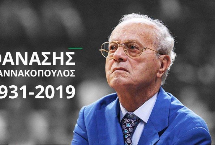 Σήμερα το τελευταίο αντίο στον Θανάση Γιαννακόπουλο