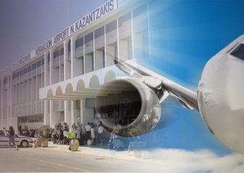 Στα… ύψη η επιβατική κίνηση στο αεροδρόμιο Ηρακλείου