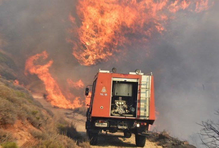 Ενημέρωση στις Μοίρες για την αντιμετώπιση κινδύνων από τις δασικές πυρκαγιές