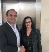 Με την παράταξη του υποψήφιου Δημάρχου Φαιστού Γιάννη Μαθιουδάκη, η Λογίστρια-Ασφαλιστική Σύμβουλος Πελαγία Σημαιάκη
